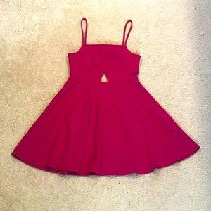NWT Oh My Love Dress Pink/Fuchsia Sz Large